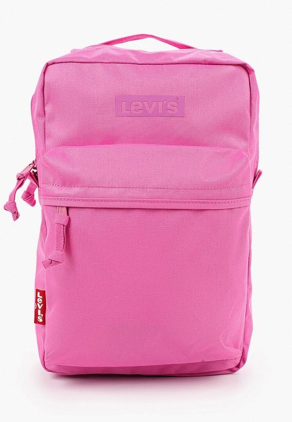 женский рюкзак levi's®, розовый