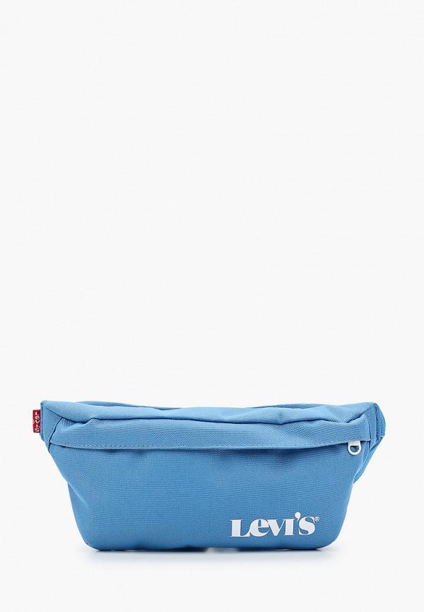 женская поясные сумка levi's®, голубая