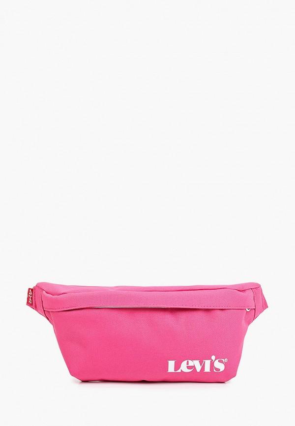 женская поясные сумка levi's®, розовая