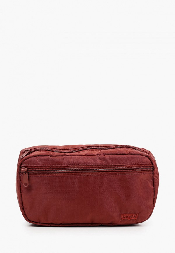 женская поясные сумка levi's®, бордовая
