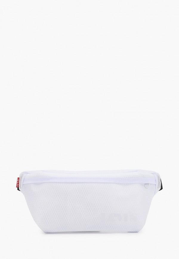 женская поясные сумка levi's®, белая