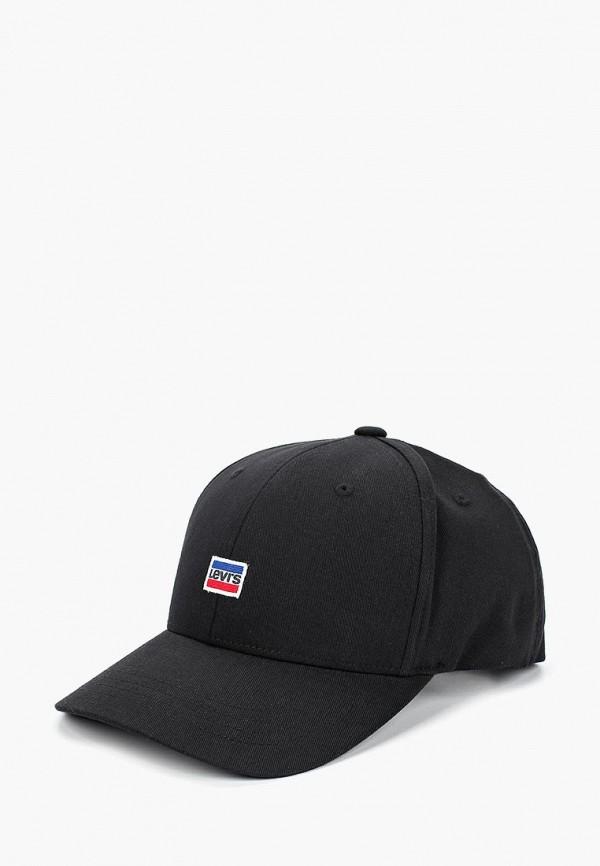 мужская бейсболка levi's®, черная
