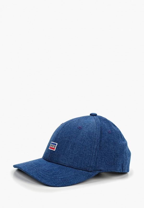 мужская бейсболка levi's®, синяя