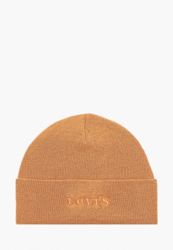 мужская шапка levi's®, бежевая