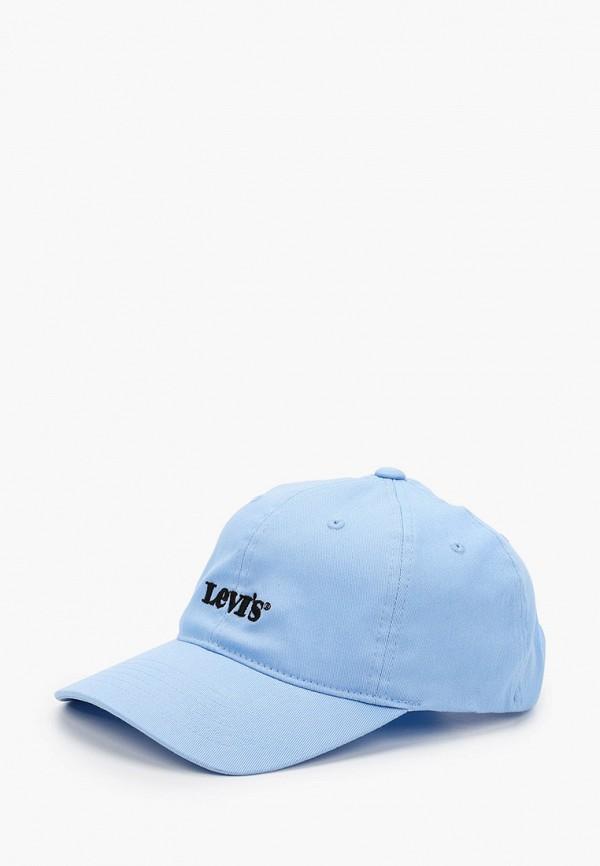 женская бейсболка levi's®, голубая