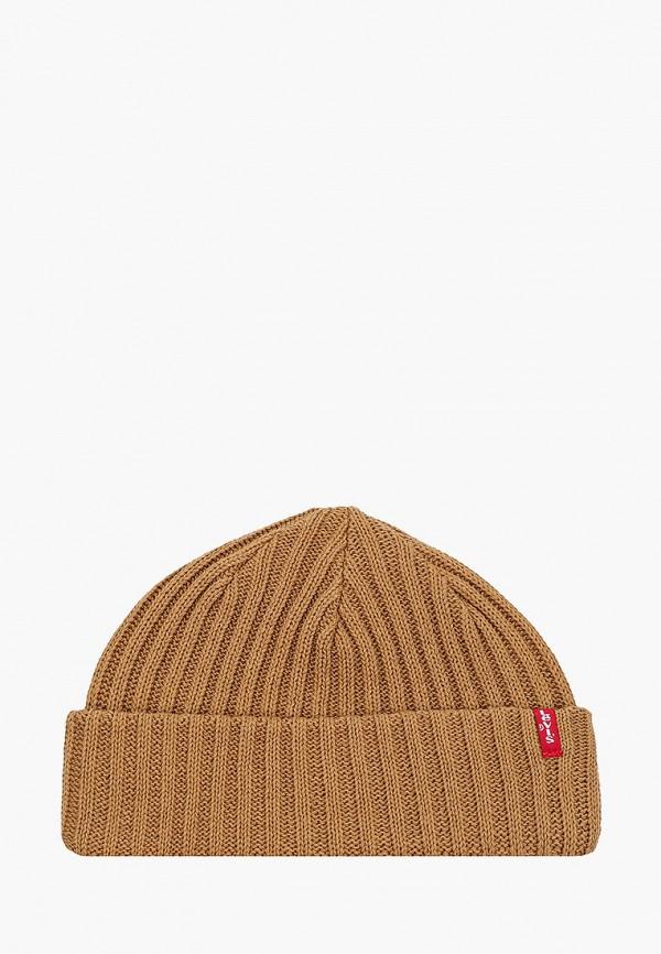 женская шапка levi's®, бежевая