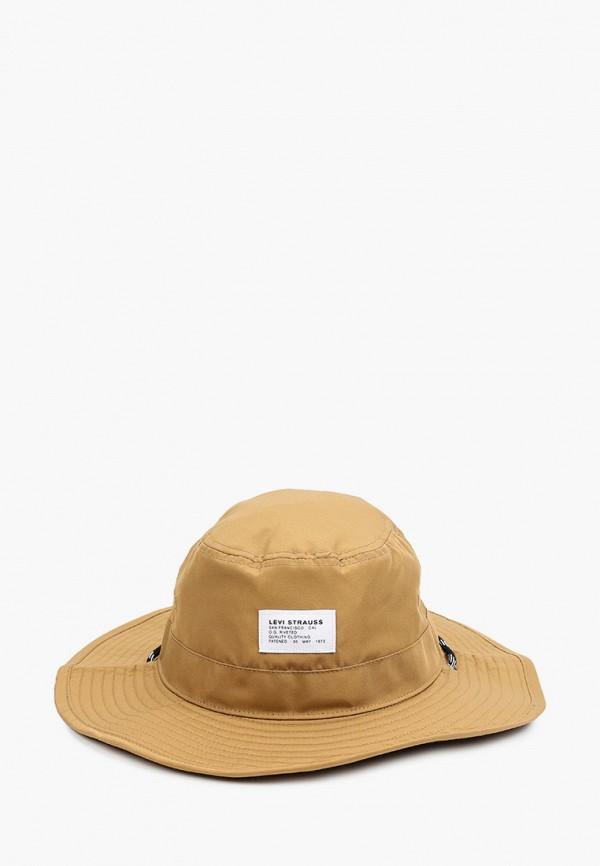 женская шляпа levi's®, коричневая