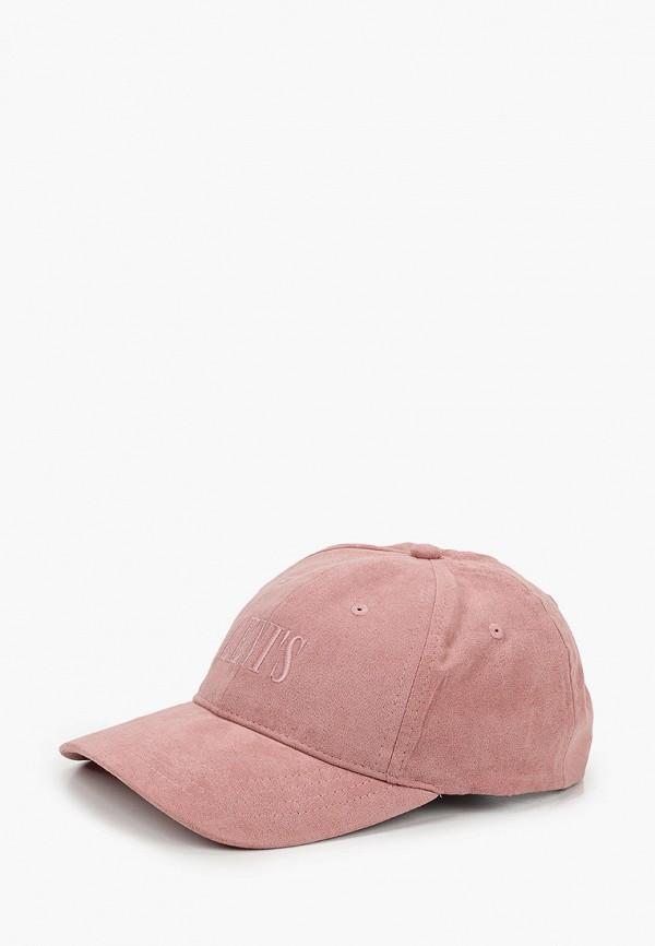 женская бейсболка levi's®, розовая