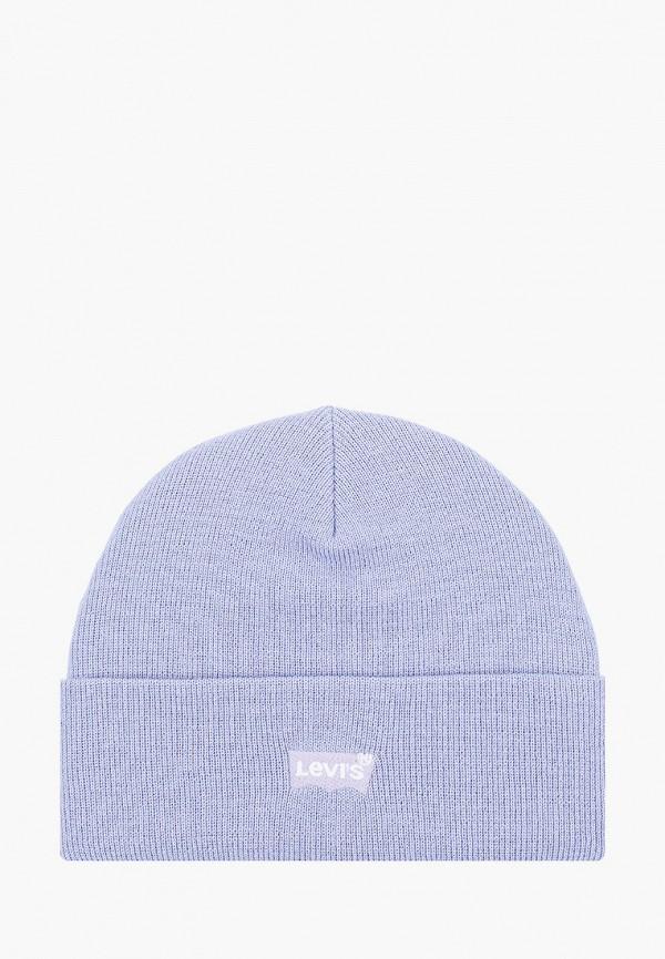 женская шапка levi's®, голубая