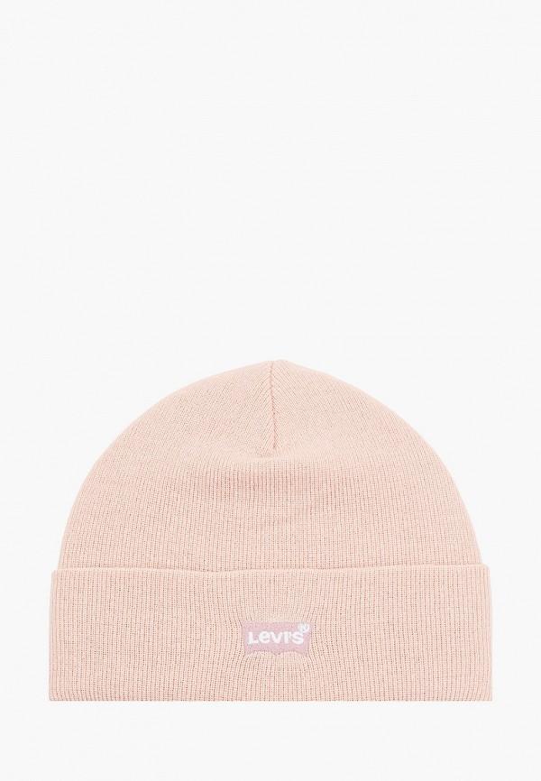 женская шапка levi's®, розовая