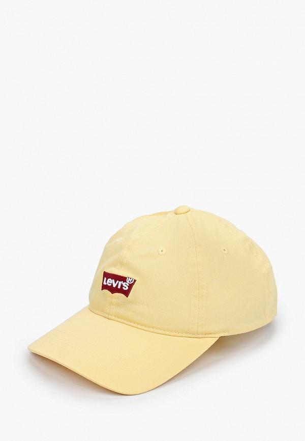 женская бейсболка levi's®, желтая