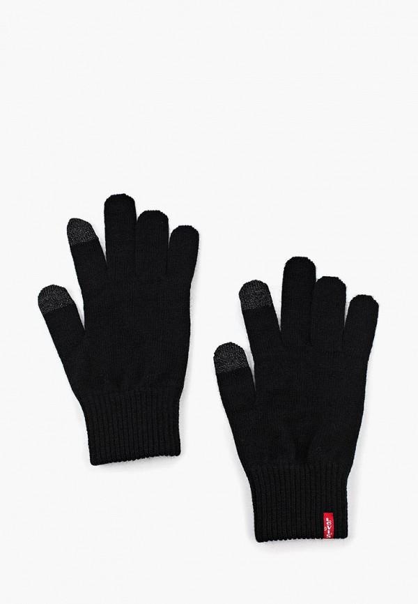 мужские перчатки levi's®, черные