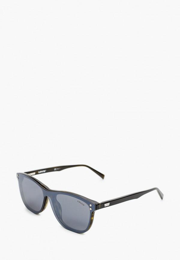 мужские квадратные солнцезащитные очки levi's®, зеленые