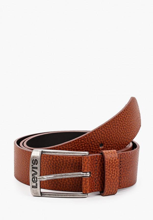 мужской ремень levi's®, коричневый