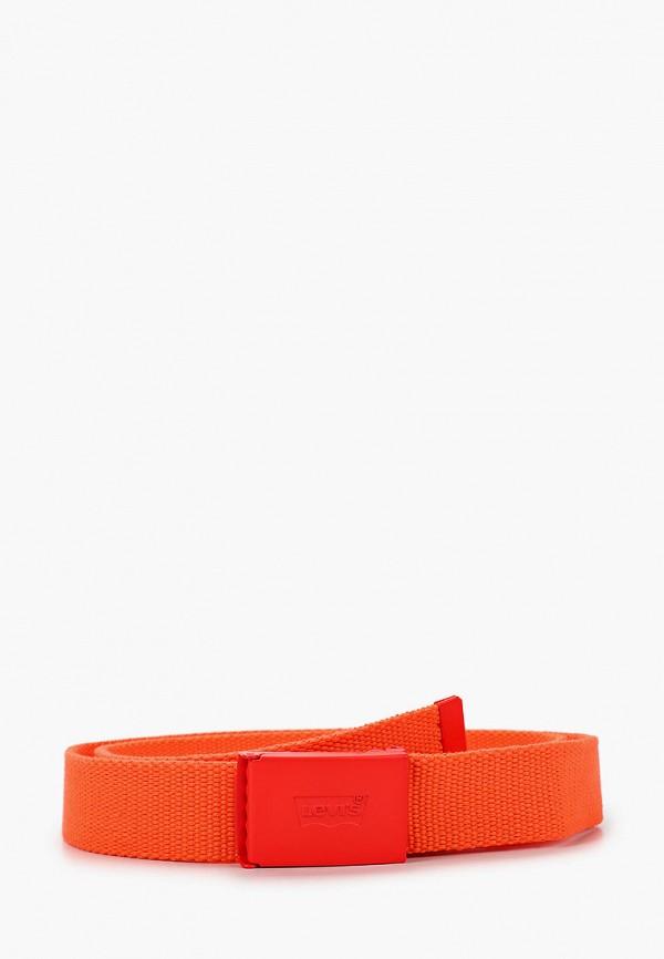 женский ремень levi's®, оранжевый