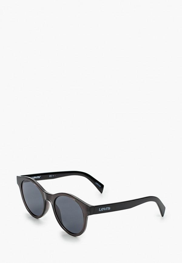 женские солнцезащитные очки levi's®, черные