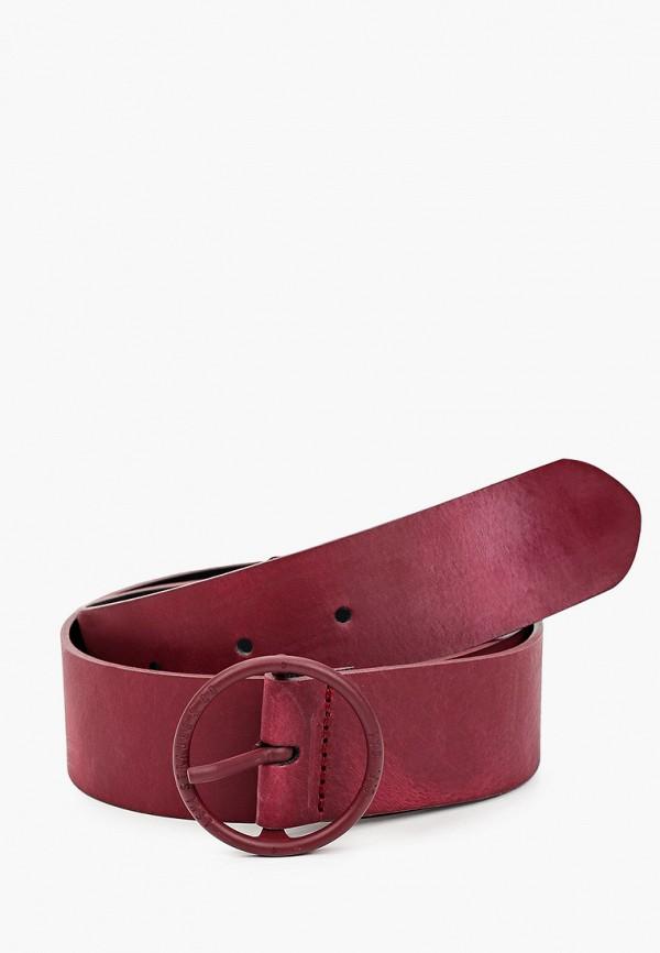 женский ремень levi's®, бордовый