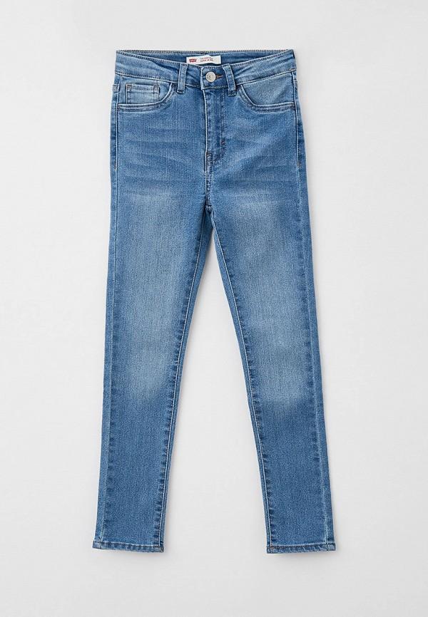 джинсы levi's® для девочки, голубые