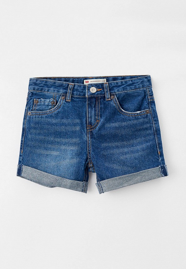 джинсовые шорты levi's® для девочки, синие