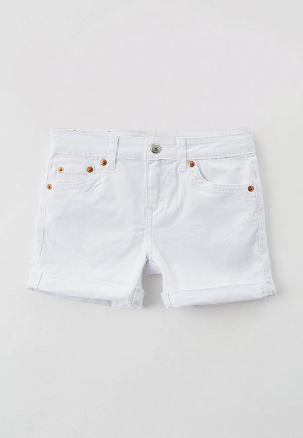 джинсовые шорты levi's® для девочки, белые