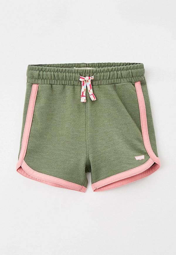 спортивные шорты levi's® для девочки, хаки