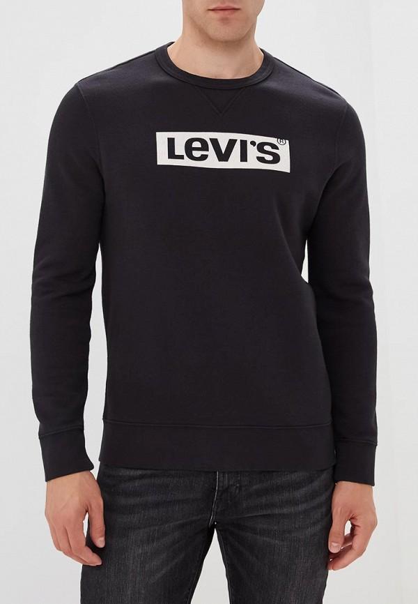 Купить Свитшот Levi's®, LE306EMBPIS6, черный, Осень-зима 2018/2019