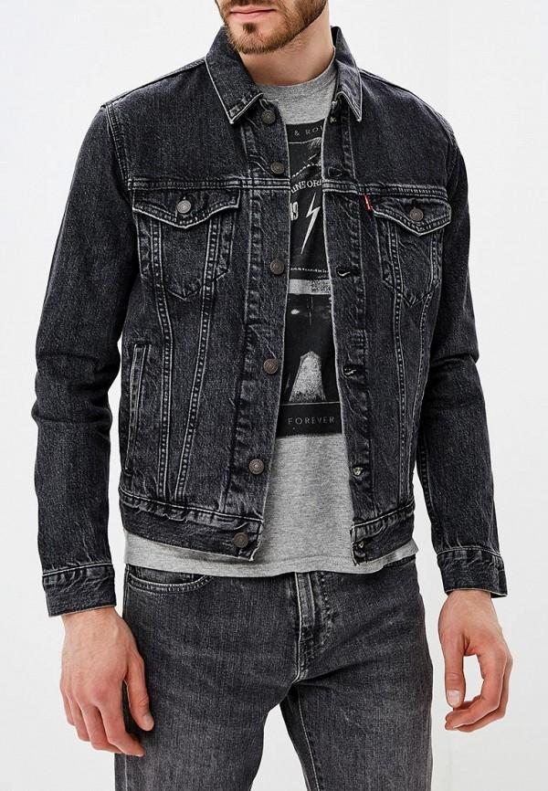 Купить Куртка джинсовая Levi's®, LE306EMBPJN7, черный, Осень-зима 2018/2019