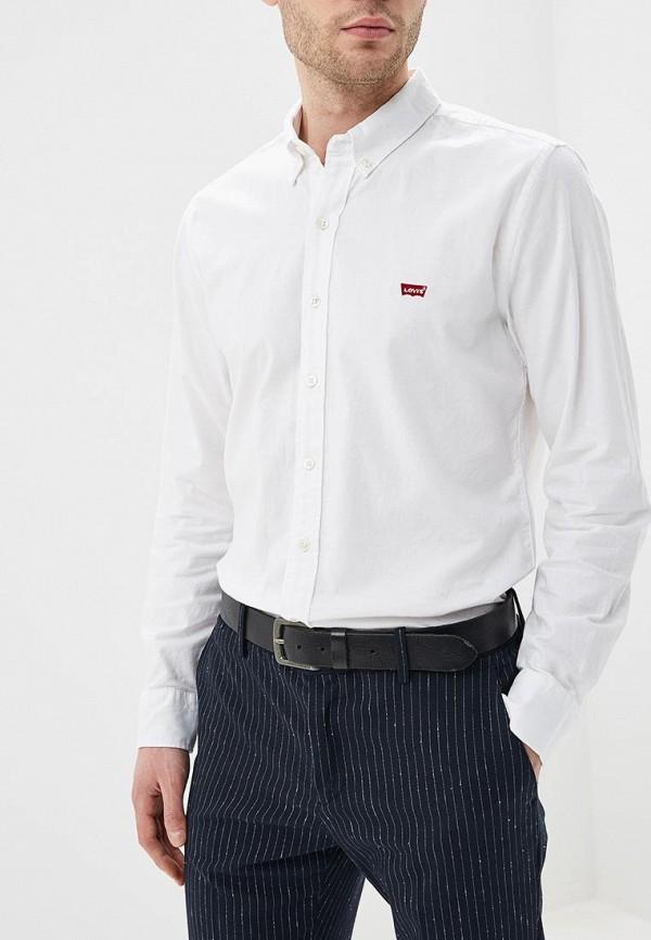 мужская рубашка с длинным рукавом levi's®, белая