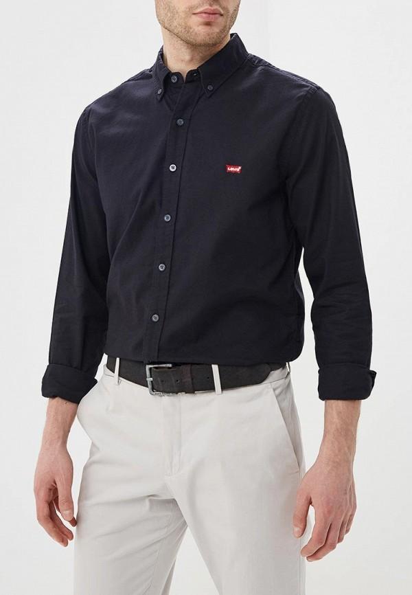 мужская рубашка с длинным рукавом levi's®, черная
