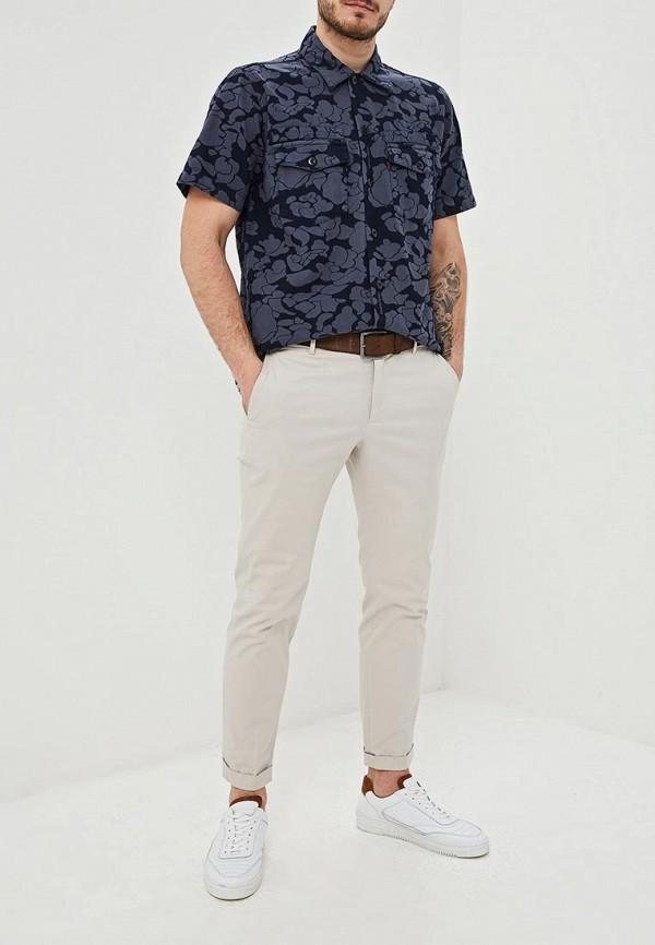 Фото 2 - Рубашку Levi's® синего цвета