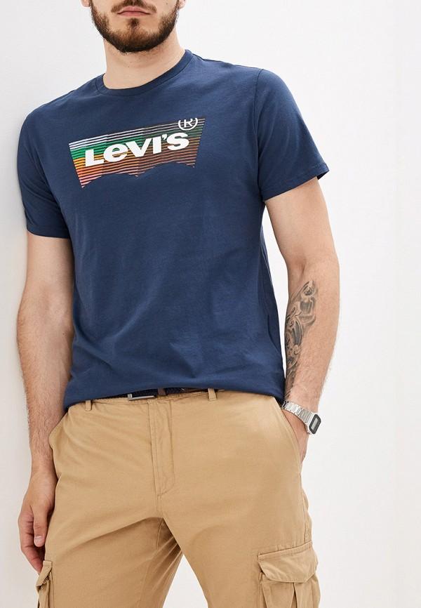 Купить Футболку Levi's® синего цвета