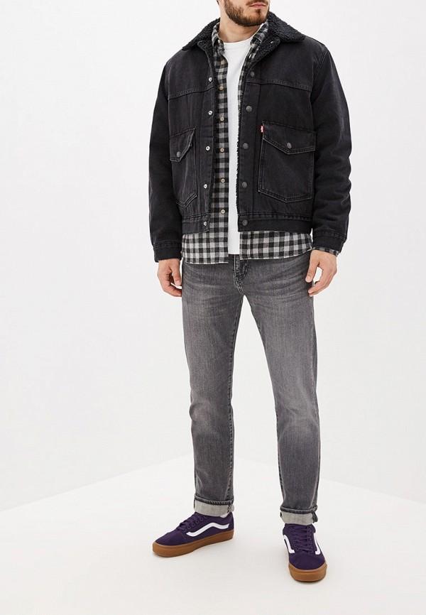 Фото 2 - Куртку джинсовая Levi's® черного цвета