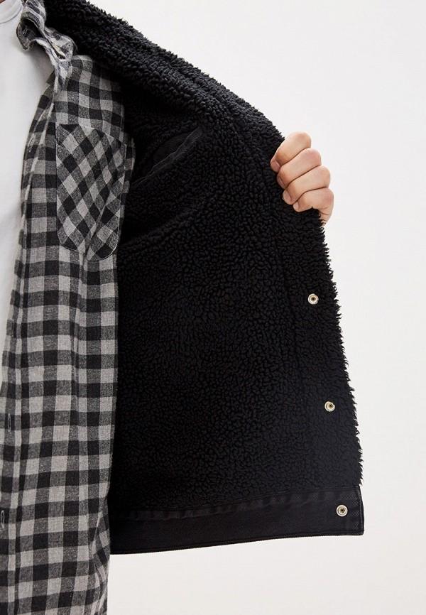 Фото 4 - Куртку джинсовая Levi's® черного цвета