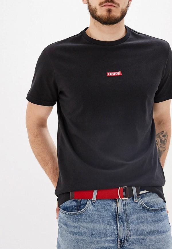 мужская футболка с коротким рукавом levi's®, черная