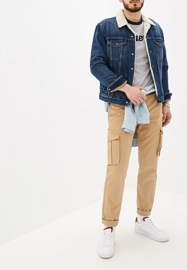 Фото 2 - Куртку джинсовая Levi's® синего цвета