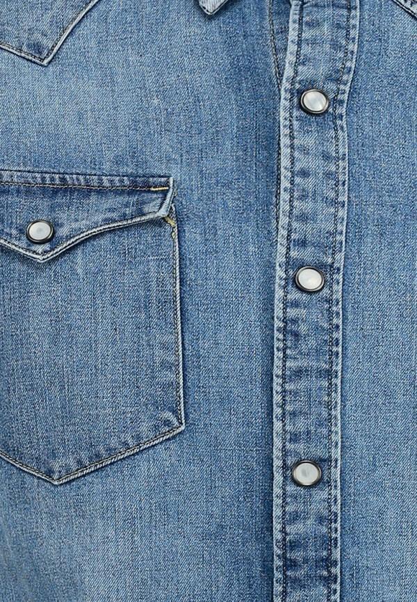 Фото 4 - Рубашку джинсовая Levi's® синего цвета