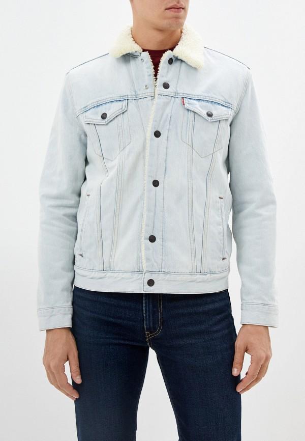 мужская куртка levi's®, голубая