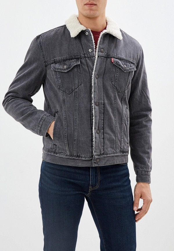 мужская куртка levi's®, серая