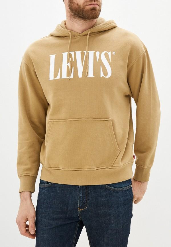 мужские худи levi's®, бежевые