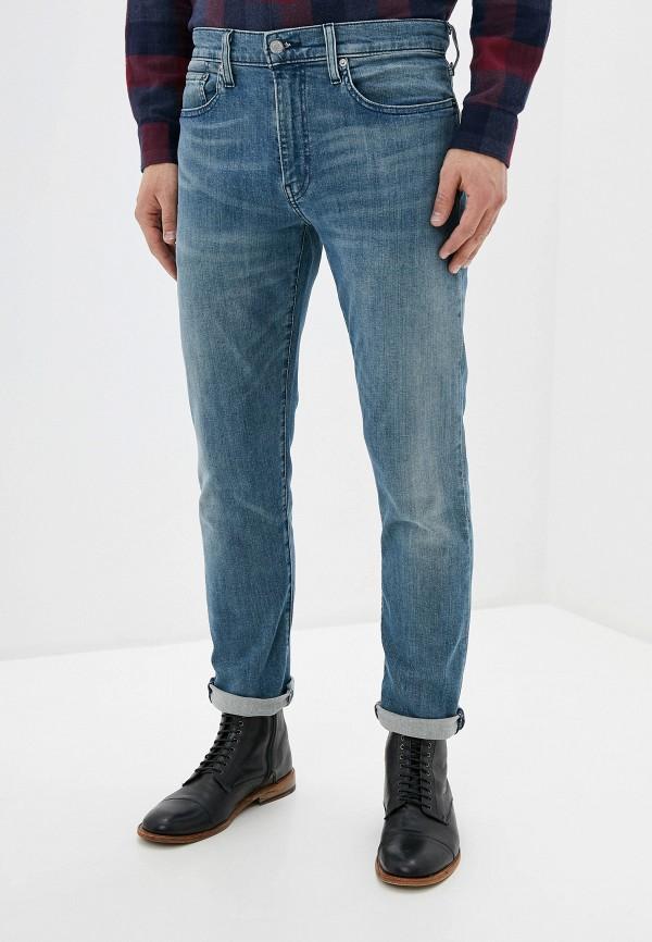 мужские зауженные джинсы levi's®, голубые