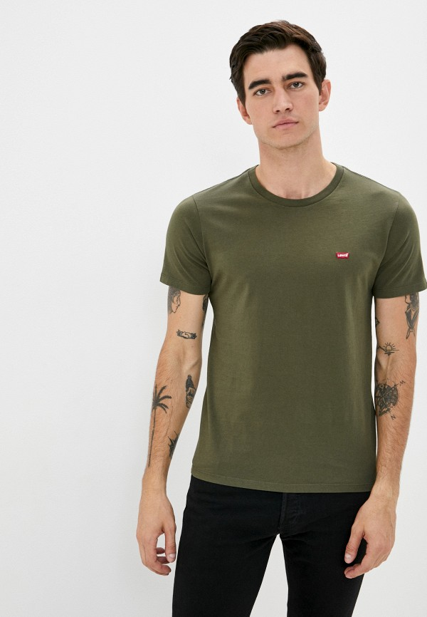мужская футболка с коротким рукавом levi's®, хаки