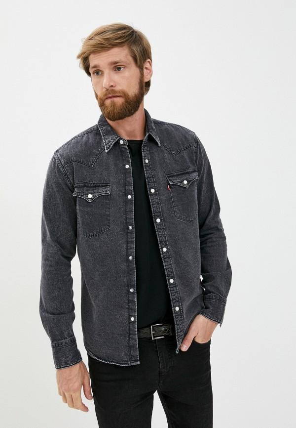 мужская джинсовые рубашка levi's®, серая