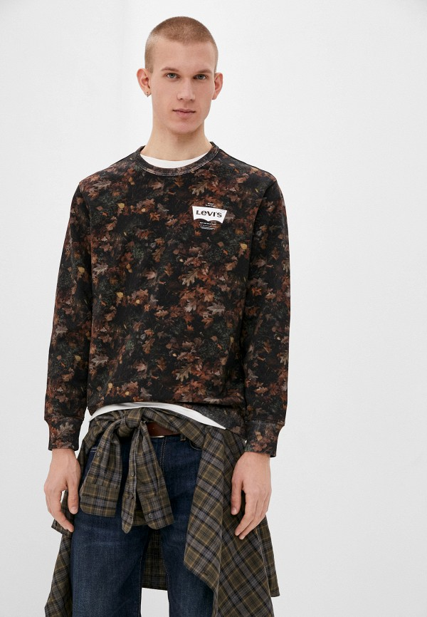 мужской свитшот levi's®, коричневый
