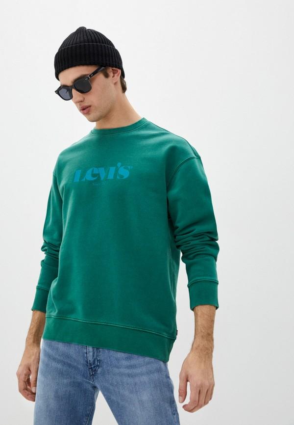 мужской свитшот levi's®, зеленый