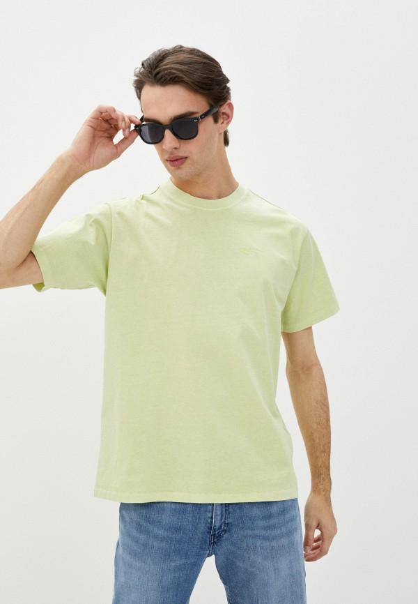 мужская футболка с коротким рукавом levi's®, зеленая