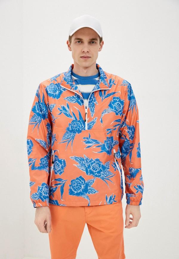 мужская ветровка levi's®, оранжевая