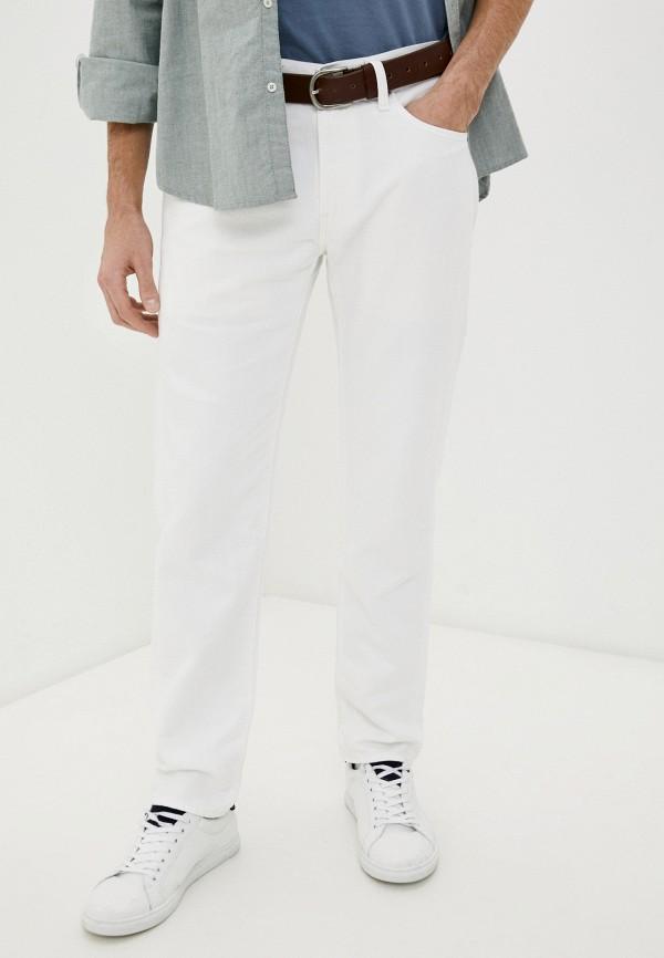 мужские зауженные джинсы levi's®, белые