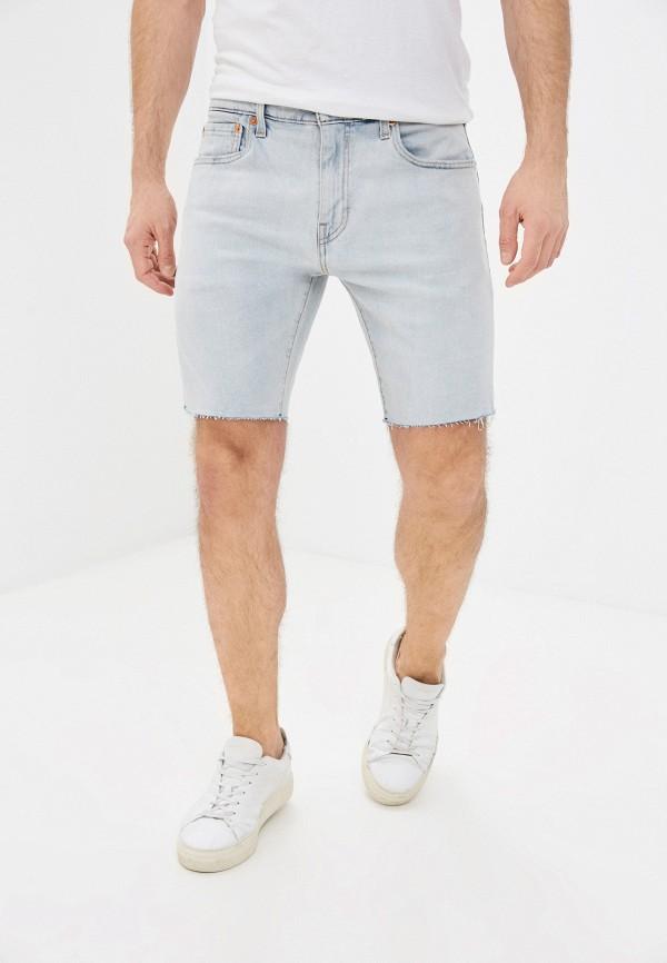 мужские джинсовые шорты levi's®, голубые
