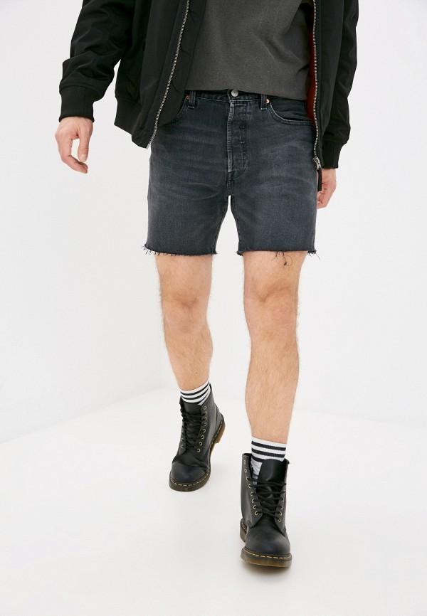 мужские джинсовые шорты levi's®, серые