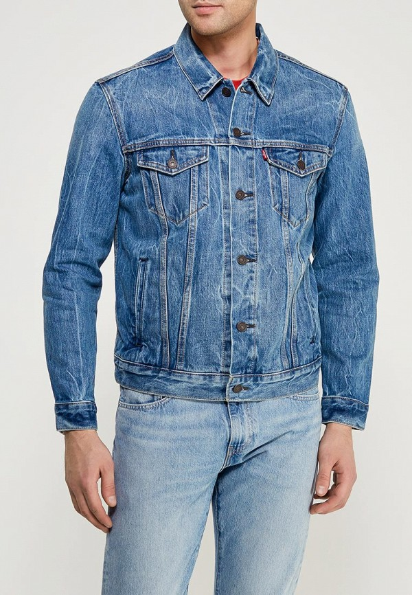 Купить Куртка джинсовая Levi's®, Trucker, LE306EMZYP66, голубой, Весна-лето 2018